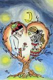 La Noche y El Amor Poster 16 X 24