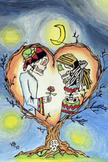 La Noche y El Amor Poster 24 X 36