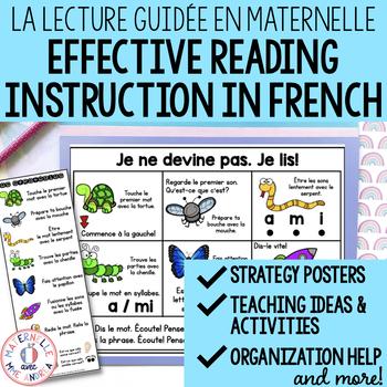La lecture guidée en maternelle - FRENCH Guided Reading for Kindergarten