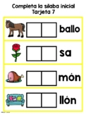 Initial Syllable Game-La silaba inicial