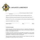 Lab Safety Agreement