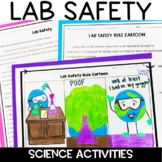 Lab Safety Worksheet (Grades 6, 7, 8)