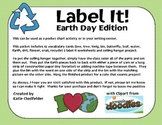 Label It-Earth Day Edition