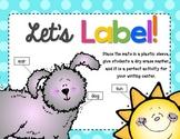 Label It! Mats