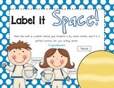 Label It Space!