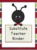 Ladybug Substitute Binder