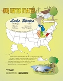 Lake States-'Our United States Series' 32-Page Lesson Plan