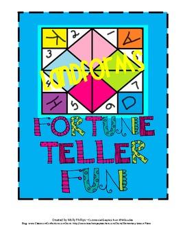 Landforms Fortune Tellers