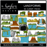 Landforms {Graphics for Commercial Use}
