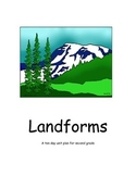 Landforms Unit Plan