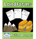 Landforms Writing Prompts