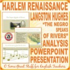 "Langston Hughes ""The Negroe Speaks of Rivers"" Power-Point"