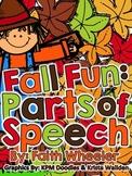 Language Arts - Fall Fun: Parts of Speech