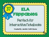Language Arts Flippables for Interactive Notebooks