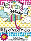 Language Arts & Math - Spring Printables 2