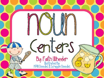 Language Arts - Noun Centers