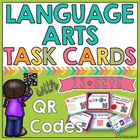 Language Arts QR Code Task Cards BUNDLE: 2nd/3rd Grade