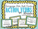 Language Arts Task Cards {Action Verbs}