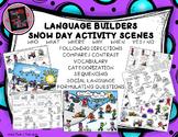 Language Builders Snow Day Activity Scenes