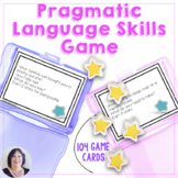 Language Star Game for Speech Therapy Pragmatics Expressiv