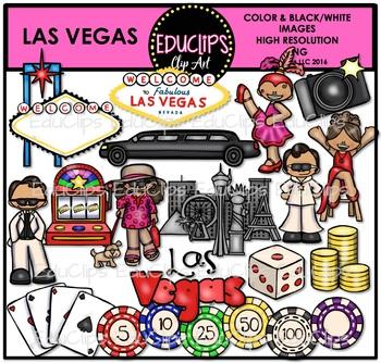 Las Vegas Clip Art Bundle