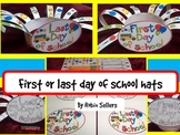 Last Day of School or First Day of School Hat Craft {end o
