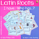 Latin Roots Game