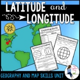 Latitude and Longitude Activities