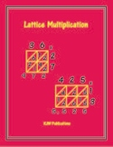 Lattice Multiplication Worksheets - 12 pages  -  PDF