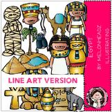 Lauree's Egyptian LINE ART bundle by melonheadz