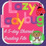 Lazy Ladybug Shared Reading Kindergarten/1