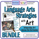 Learn Language Arts Strategies With Art - BUNDLE