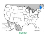 Learn the Fifty States Powerpoint