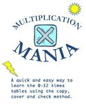 Learn the Multiplication Times Tables Using the Copy, Cove