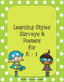 Learning Style Survey and Posters for K - 1