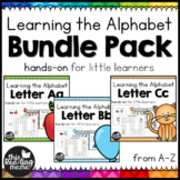 Learning the Alphabet: Printable ABC Packs
