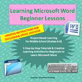 Learning to Use Microsoft Word - Beginner Lessons