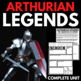 Legends of King Arthur and his Knights: Handouts and Activities