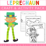 Leprechaun Craft & Activity Pack-St. Patrick's Day