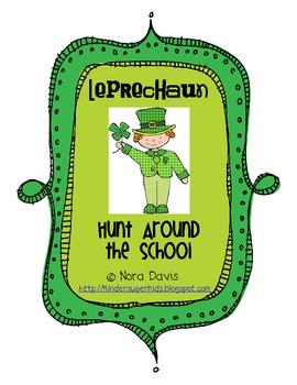 Leprechaun Hunt Around the School