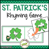 Leprechaun Rhyming Game