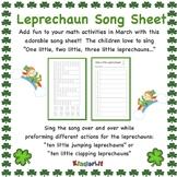 Leprechaun Song Sheet