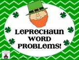 Leprechaun Story Problems