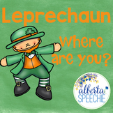 Leprechaun Where Are You? Preposition Interactive Book