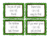 Leprechaun's Clever Contractions: St. Patrick's Day Task Cards