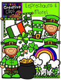 Leprechauns and More! {Creative Clips Digital Clipart}