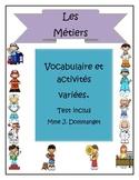 Les Métiers-Activities + test
