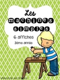 Les machines simples (simple machines) Science unit (Movement)
