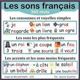 Les sons français en images - French phonics illustrated w