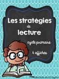 Les stratégies de lecture 6 affiches (Reading Strategies m